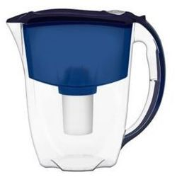Dzbanek  ideal 2,8 l niebieski + 3 wkłady b100-15 marki Aquaphor