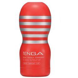 Słynny, udający seks oralny model Tenga Deep Throat - produkt z kategorii- masturbatory i pochwy