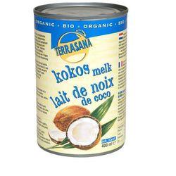 Mleczko kokosowe 22% BIO 400ml - Terrasana - produkt z kategorii- Kuchnie świata
