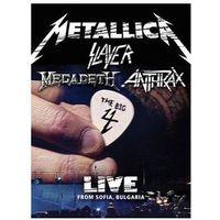 Universal music Metallica, slayer, megadeth, anthrax - live from sofia, bulgaria (box) - zaufało nam kilkaset