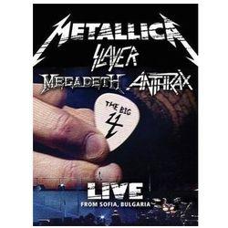 Metallica, slayer, megadeth, anthrax - live from sofia, bulgaria (box) - zaufało nam kilkaset tysięcy klient