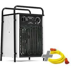 Nagrzewnica elektryczna TDS 50 biała + Przedłużacz Profi 20 m / 230 V / 2,5 mm²