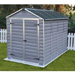 Narzędziowy domek do ogrodu skylight 6x10 szary - transport gratis!, marki Palram