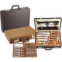 25 el. zestaw noży i widelców grill+ walizka / rl-k25lb / 01-007 marki Royalty line