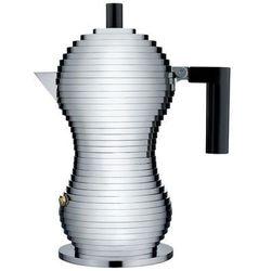 Zaparzacz do espresso Pulcina z czarnym uchwytem 150 ml (8003299388080)