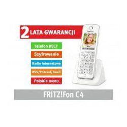 AVM FRITZ!Fon C4 DECT Słuchawka dla FRITZ!Box (Kolorowy wyświetlacz, HD Voice, słuchawki), towar z kategori