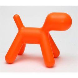 Siedzisko dziecięce Pies inspirowane Puppy - pomarańczowy