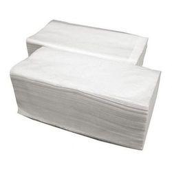 Merida Ręczniki składane białe economy 4000 szt (5908248112668)