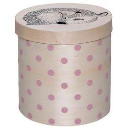 Pudełko z jelonkiem w różowe kropki - marki Bloomingville