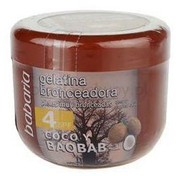 sun bronceador żel tonujący z kokosem spf 4 + do każdego zamówienia upominek. od producenta Babaria