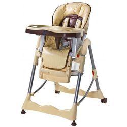 Caretero Magnus krzesełko do karmienia cappucino z kategorii krzesełka do karmienia