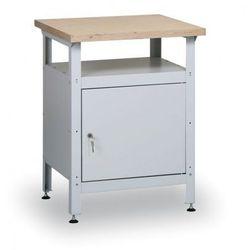Stół warsztatowy hobby ii, 600x600x750 mm marki B2b partner