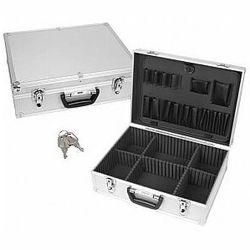 Perel walizka narzędziowa aluminiowa - 457 x 330 x 152 mm
