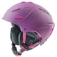 Kask narciarski  p1us pro wl lady purpurowy m (55-59cm) marki Uvex