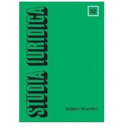Studia Iuridica Tom 52 Ochrona własności, książka z ISBN: 9788323507246