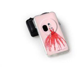 Fantastic Case - Asus Zenfone Zoom - etui na telefon Fantastic Case - czerwona suknia - sprawdź w wybranym sk