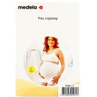 MEDELA 0826 L Ciążowy pas podtrzymujący Biały | DARMOWA DOSTAWA OD 150 ZŁ!, kup u jednego z partnerów