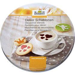 Birkmann Zestawy szablonów do dekoracji kawy i ciast 450226