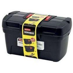 Curver Zestaw narzędzi case  herobox 13´ + 16´ czarne/czerwone