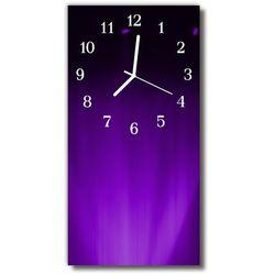 Zegar Szklany Pionowy Sztuka Wzorzec purpurowy, kolor fioletowy