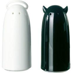 Solniczka i pieprzniczka Spicies biało-czarna