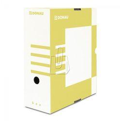 Donau Pudełko archiwizacyjne 120mm żółte