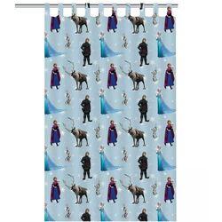 Disney zasłona dziecięca kraina lodu, 250 x 140 cm, niebieska (8717278290744)