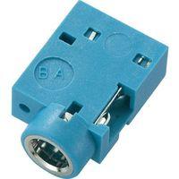 Gniazdo jack 3,5mm stereo,print 90°, niebieskie marki Conrad components