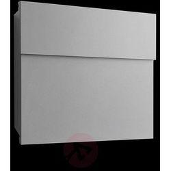 Praktyczna skrzynka na listy letterman iv, srebrna marki Absolut/ radius