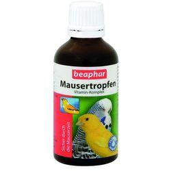 BEAPHAR Mausertropfen - witaminowy preparat do stosowania podczas pierzenia 50ml, kup u jednego z partnerów