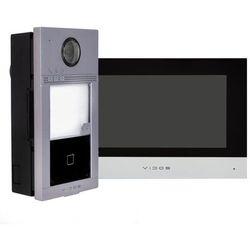 Zestaw podtynkowy wideodomofonu IP Vidos czytnik RFID monitor 7''