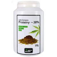 Mąka konopna Proteiny ~ 38% 500g w puszce, 7361-205CC