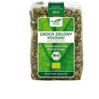 Groch zielony połówki BIO 400g