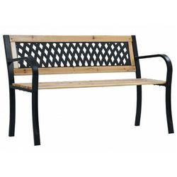 Klasyczna ławka ogrodowa - Miranda, vidaxl_47944