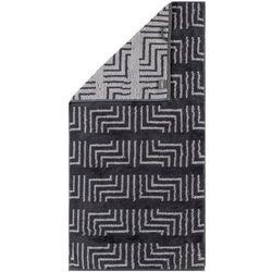 Cawö Frottier ręcznik kąpielowy Decor antracyt, 80 x 200 cm - sprawdź w wybranym sklepie