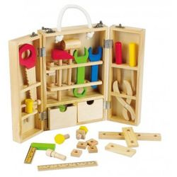 Drewniana skrzynka z narzędziami - produkt z kategorii- Skrzynki i walizki narzędziowe