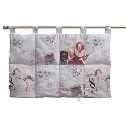Dekoria Wezgłowie na szelkach, pastelowe róże i beże, 90 x 67 cm, Freestyle