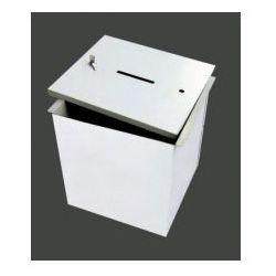 Urna do głosowania metalowa łatwo demontowalna - mała - produkt z kategorii- Pozostałe artykuły BHP