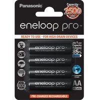 Panasonic Eneloop PRO AA 2450 mAh 500 cykli 4szt. (5410853052579)