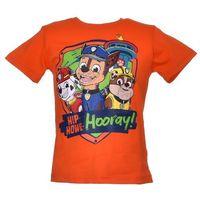 T-shirt z wizerunkiem bohaterów bajki psi patrol - kolorowy ||pomarańczowy marki Licencja - inne