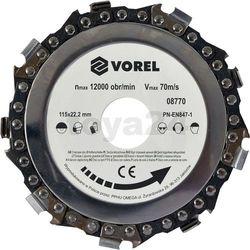 Tarcza łańcuchowa 115mm / 08770 /  - zyskaj rabat 30 zł marki Vorel