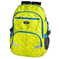 Plecak szkolno-sportowy SPOKEY 837995 Żółty (5901180379953)