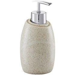 Dozownik do mydła STONE BEIGE, kolor beżowy, ZELLER, B003TEFLJE