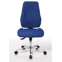 Krzesło obrotowe dla operatora,wyściełane oparcie marki Topstar
