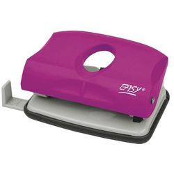 Easy, dziurkacz plastikowy, różowy, 15 kartek - produkt dostępny w Smyk