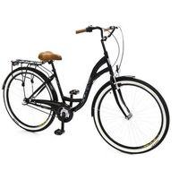 Rower DAWSTAR Citybike 26 Czarny S3B + 5 lat gwarancji na ramę! + DARMOWY TRANSPORT!