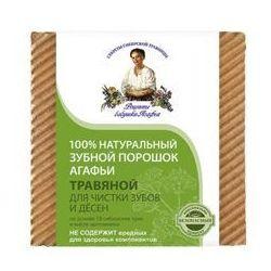 Pierwoje reszenie, rosja Babuszka agafia naturalny ziołowy proszek do zębów - czyszczący 120ml, kategoria: