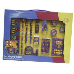 FC Barcelona, zestaw piśmienniczy, 18 elementów - z kategorii- pozostałe artykuły szkolne i plastyczne