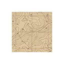 Foto naklejka samoprzylepna 100 x 100 cm - Abstrakcyjne tło retro mapa topograficzna, fotako z FOTAKO