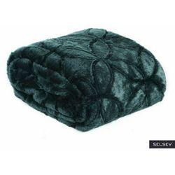 Selsey narzuta na łóżko isudi 220x240 cm ciemnozielona (5903025671116)